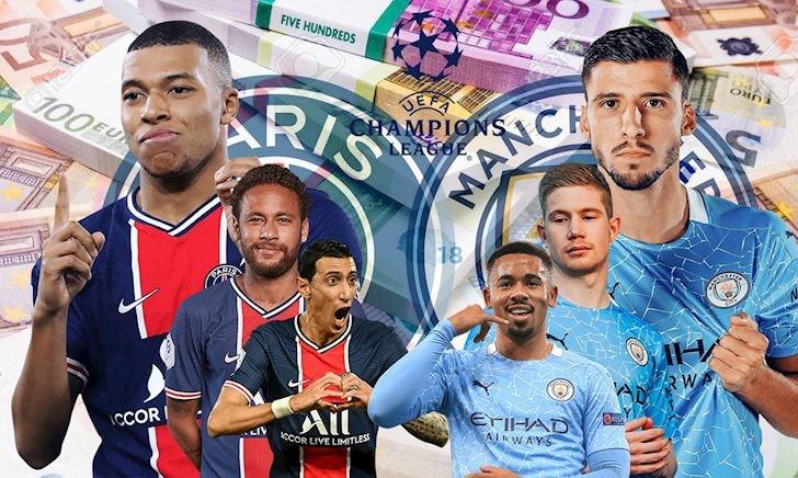 Tructiepbongda, Link xem trực tiếp PSG vs Man City 2h ngày 29/4