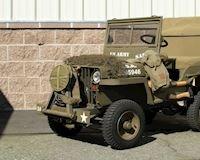 Chiếc Jeep đồ chơi xịn, được trang bị động cơ Honda và có thể điều khiển được