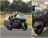 Thần gió Hayabusa độ turbo 860 mã lực lập kỷ lục tốc độ 482 km/giờ