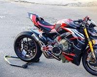 Chi mạnh 1 tỷ đồng để độ Ducati Streetfighter V4 với dàn đồ chơi hàng hiệu