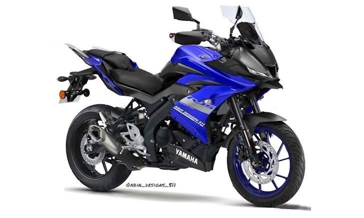 Đây là hình ảnh Yamaha YZF-R15 khi biến thành một mẫu Sports Tourer