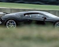 Phát hiện siêu xe Bugatti La Voiture Noire có một không hai chạy thử trên đường