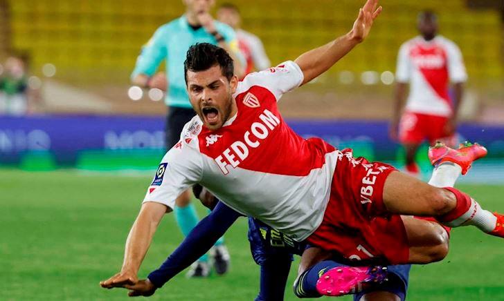 Hỗn chiến ở Ligue 1, trận Monaco vs Lyon có đến 5 thẻ đỏ