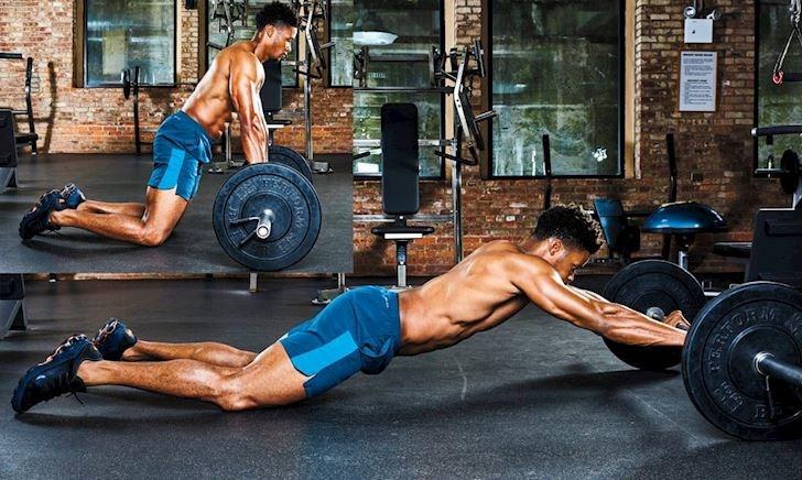7 bài tập tạ đòn cho cơ core mạnh như vận động viên chuyên nghiệp (Phần 1)