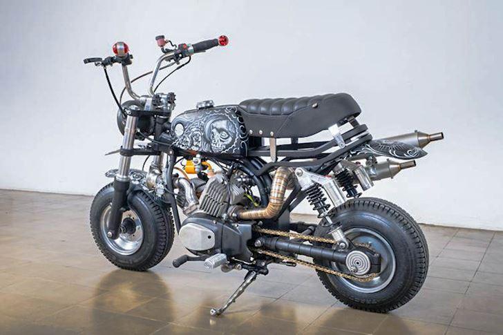 xe độ, xe độc, Honda Monkey