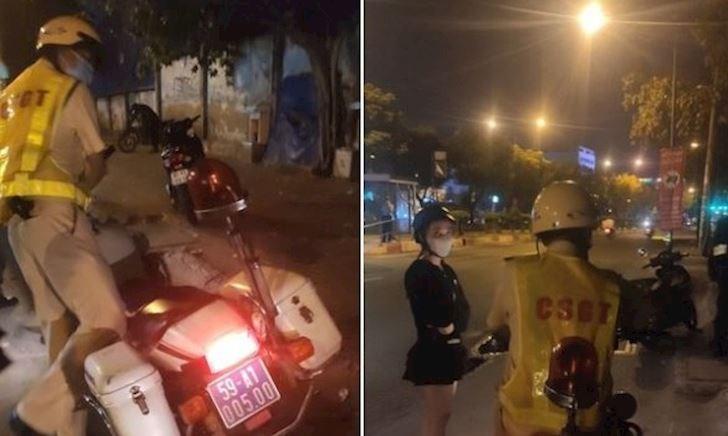 CSGT Tân Sơn Nhất bị tố không chứng minh được lỗi nhưng lại giữ giấy tờ xe