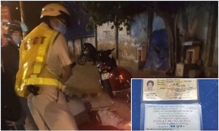 Vụ giữ giấy tờ vô cớ, CSGT Tân Sơn Nhất đã xin lỗi và trả lại giấy tờ