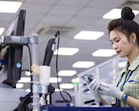 Sản xuất điện thoại tại Việt Nam tăng trưởng mạnh mẽ