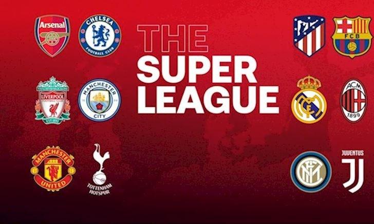 9 đội rút khỏi Super League chính thức nhận án phạt từ UEFA