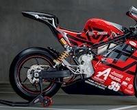 Siêu xe điện mới trông như MotoGP được tạo nên từ sinh viên trường Đại Học