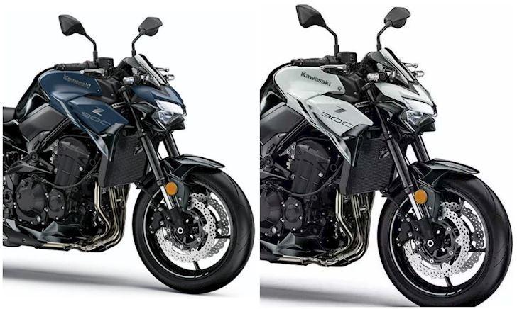 Kawasaki trang bị cho Z900 một số thay đổi cho năm 2022