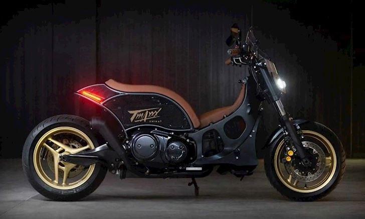 Khó tin với Yamaha TMAX 500 được độ lại, mang nguồn cảm hứng từ MT-09