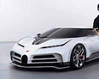 Bugatti Centodieci vừa được siêu sao Cristiano Ronaldo tậu có giá hơn 200 tỷ đồng