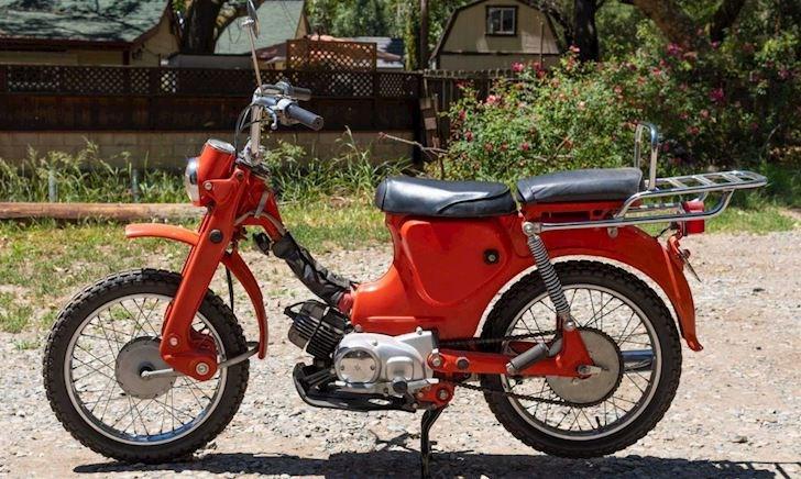Trông như Honda Cub nhưng lại là mẫu xe chính hãng Yamaha