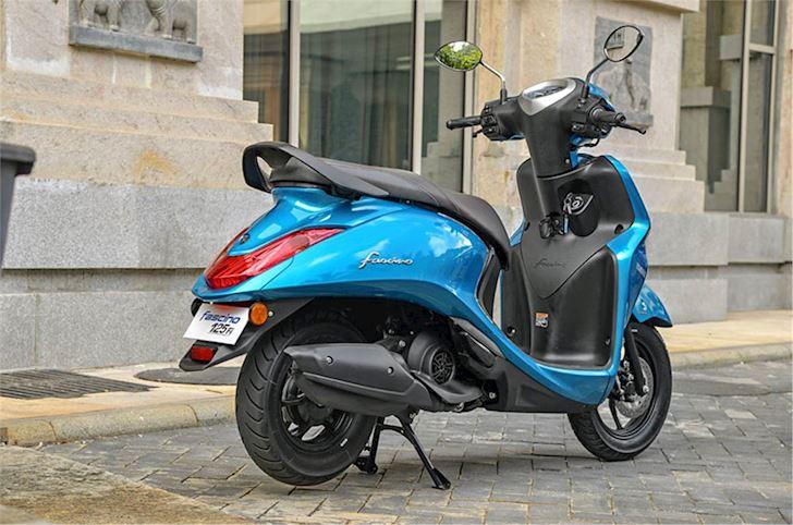 yamaha fascino 125 hybrid ra mat xau hon grande blue core hybrid ban tai viet nam 4