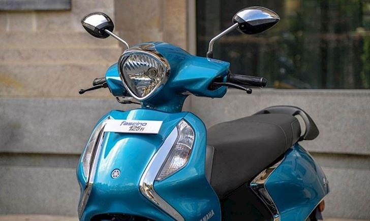 Yamaha Fascino 125 Hybrid ra mắt, xấu hơn Grande Blue Core Hybrid bán tại Việt Nam