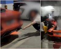 Nẹt pô Lamborghini để nướng thịt, tưởng ngầu đâu ngờ hư luôn động cơ