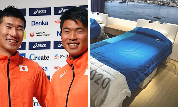 Ngăn VĐV rảnh rỗi lại ân ái với nhau, chủ nhà Olympic cho lắp giường bằng giấy