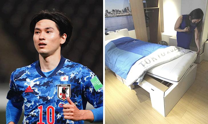 Giường giấy ở Olympic: chấp đủ mọi tư thế, 'mây mưa' kiểu nào cũng được