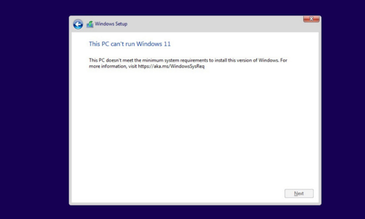 Cach nang cap len Windows 11 Insider Preview danh cho nhung may khong dat yeu cau cau hinh