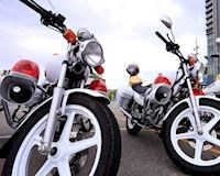 Lý do mà biệt danh xe bồ câu lại được gắn với mô tô của CSGT