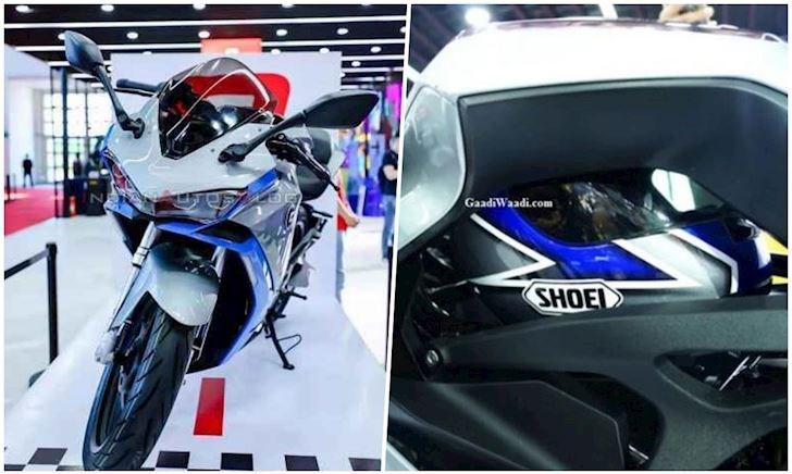 Kiểu dáng Yamaha R3 nhưng dùng động cơ điện đến từ hãng Benelli