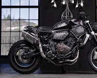 Chiêm ngưỡng Yamaha XSR700 độ kiểng, với thân xe làm từ chất liệu carbon rèn
