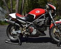Mô tô chỉ giới hạn 300 chiếc để vinh danh tay đua huyền thoại, Ducati Monster S4