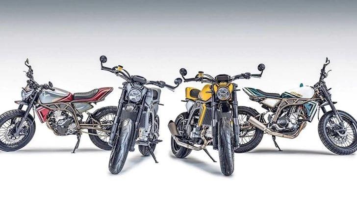 Hai mẫu xe mới Street Moto và Street Tracker, có tỷ lệ công suất trên trọng lượng lý tưởng
