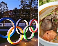 Đồ ăn Việt Nam được phục vụ tại Olympic, VĐV ăn phở, bùn bò thoả thích