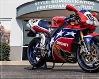 Mẫu xe Ducati 998S vinh danh tay đua huyền thoại, giới hạn chỉ 155 chiếc