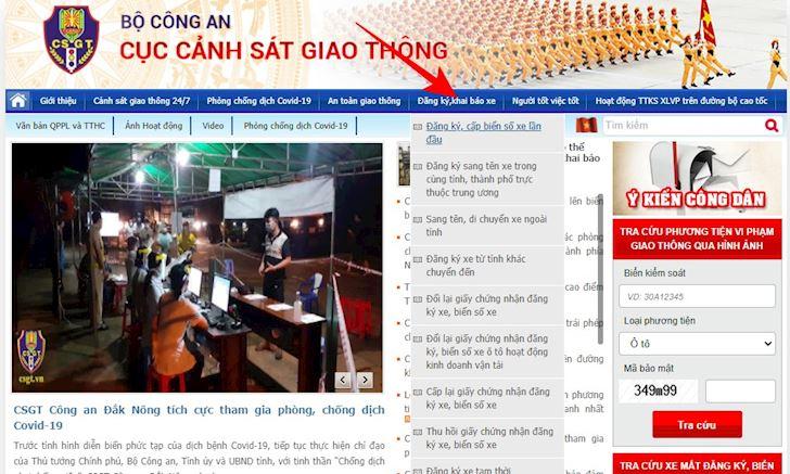 anh em da co the dang ky xe moi bang hinh thuc online 2