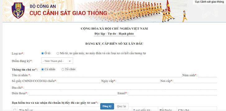 anh em da co the dang ky xe moi bang hinh thuc online 3