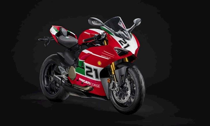 Chiêm ngưỡng mẫu mô tô đặc biệt Ducati Panigale V2 Bayliss