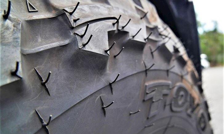 Bí ẩn về gai gió có trên lốp xe