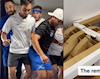 Thêm VĐV Olympic review giường chống 'mây mưa', 9 người cùng nhảy liệu có sập