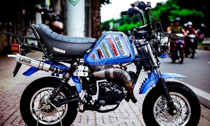 Xế nhỏ Yamaha Vogel độ kiểng hơn 300 triệu đồng ở Việt Nam