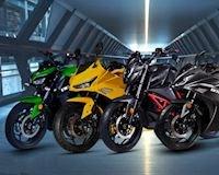 Nhiều mẫu mô tô điện được ra mắt có thiết kế giống Z1000, R1 và Ducati Panigale