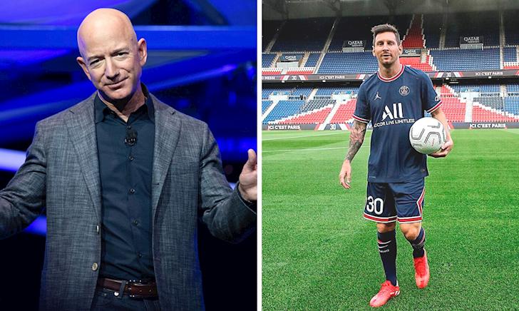 Lớ ngớ vớ bí kíp, tỷ phú Amazon trúng đậm nhờ Messi sang Ligue 1