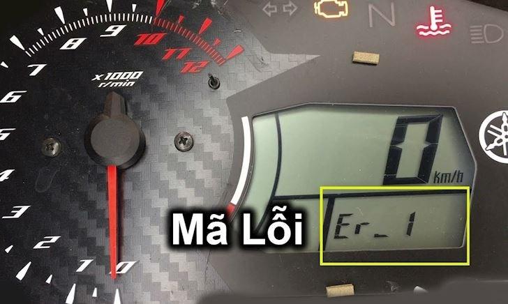 Nhìn số báo lỗi trên Exciter 150, biết ngay xe đang gặp vấn đề gì