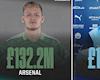 Arsenal mua sắm mạnh nhất NHA, cho MU và Man City hít khói
