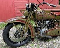 Mẫu Harley-Davidson J cổ điển với 10 năm để tân trang làm mới