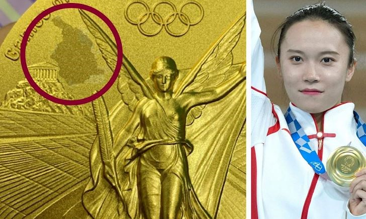 VĐV Trung Quốc tố HCV Olympic là đồ dỏm, chưa bao lâu đã bong tróc