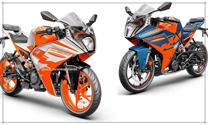Lộ thêm màu sắc mẫu xe KTM RC390 2022 với ngoại hình mới