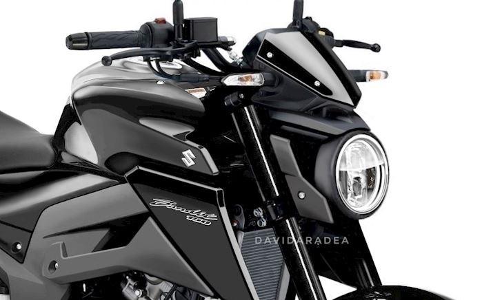 Suzuki Bandit 150 xuất hiện đẹp mắt với phong cách cổ điển, có thể là phiên bản 2022