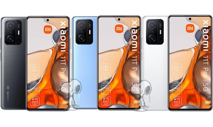 Đây liệu có phải là Xiaomi 11T và 11T Pro?