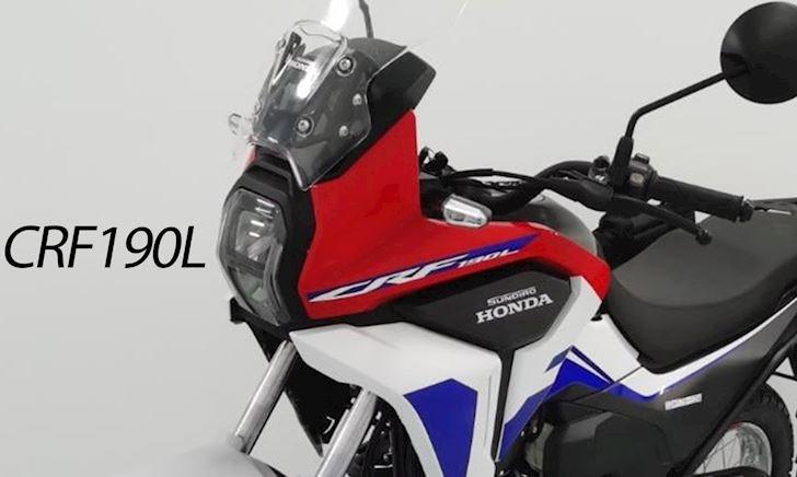 Honda ra mắt mô tô adventure CRF190L hạng nhẹ mới
