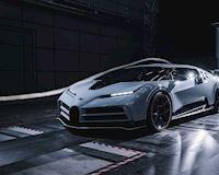 Thử nghiệm đường hầm gió, kiểm tra tốc độ của siêu xe Bugatti Centodieci