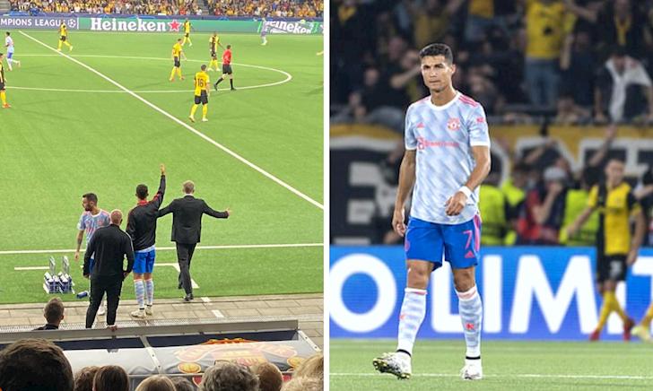 Rio Ferdinand ngứa mắt khi thấy Ronaldo ra đường biên chỉ đạo