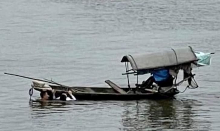 Thượng úy quân đội bơi như người nhái ra giữa sông cứu một cô gái